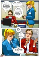 Tranny fucks boss (porn comics) - Shemale Sex Comics