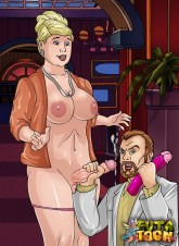 Cartoon's MILFs with long dicks Shemale Sex Comics