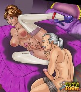 Cartoon's MILFs with long dicks - Shemale Sex Comics