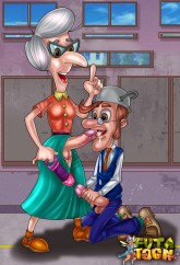 Jimmy Neutron tranny toons - Jimmy Neutron Futanari