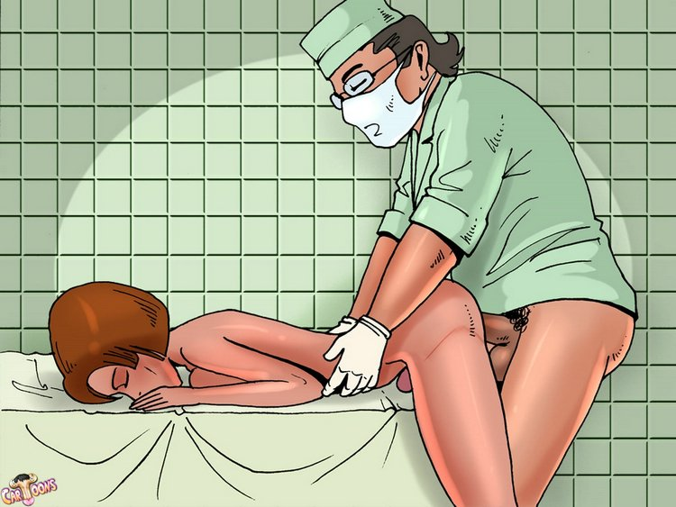 Plastic surgeon fucks new tranny - T-Cartoons