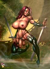 Famous dickgirls - Futanari Celebs Comics